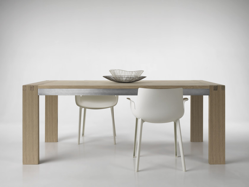 Extending oak table TENONE by L'Ottocento