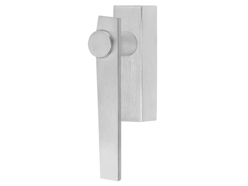DK stainless steel window handle TENSE BB101-DKLOCK | Window handle by Formani