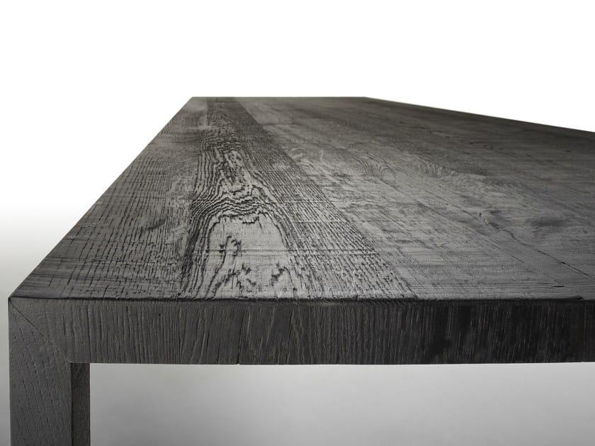 Rechteckiger Tisch aus Eichenholz TENSE CARBONE By MDF Italia Design ...