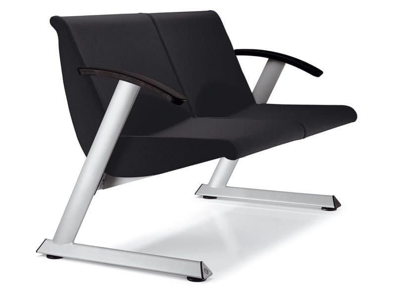 2 seater fabric leisure sofa TEOREMA | Sofa by Ares Line