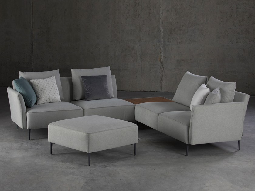 Corner sectional fabric sofa TERA | Sofa by Aquinos Collection