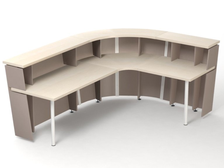 Office reception desk TERA by NARBUTAS