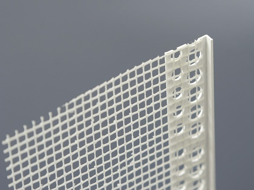 PVC Edge protector TERMINALE PVC by Biemme