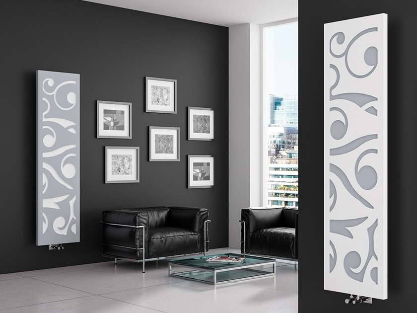 Wall-mounted metal panel radiator TERMO FLOWER by XÒ by Metalform