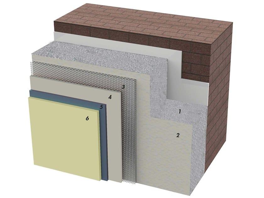 Exterior insulation system TERMOINTONACO by IDA