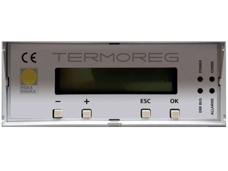 Heat regulation and hygrometric control TERMOREG by Paradigma Italia