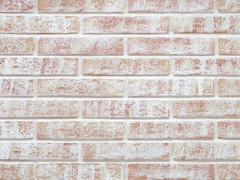 Wall tiles with brick effect TERRA DI SIENA SHABBY by Decor