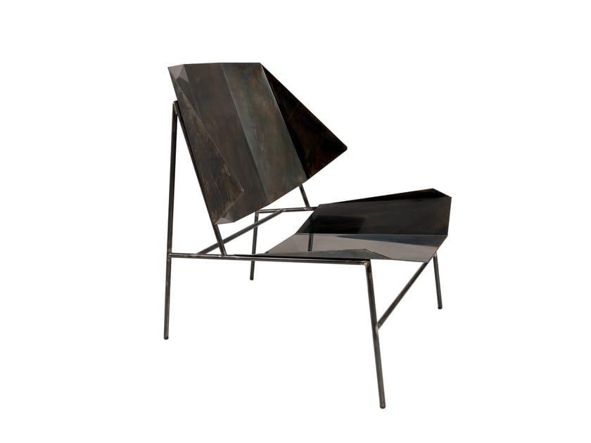 Iron easy chair TERRA | Iron easy chair by Atipico