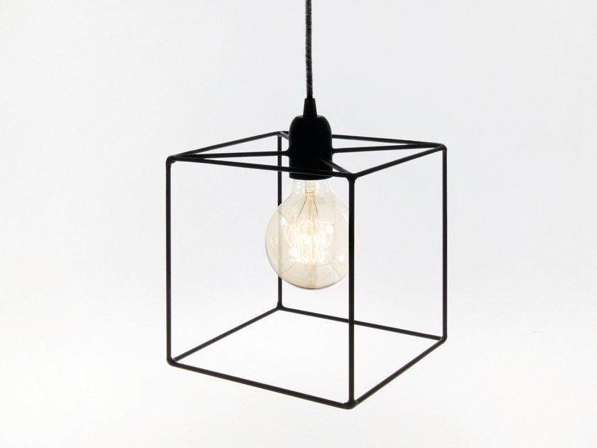 Direct light incandescent iron pendant lamp terra iron pendant lamp by bigdesign