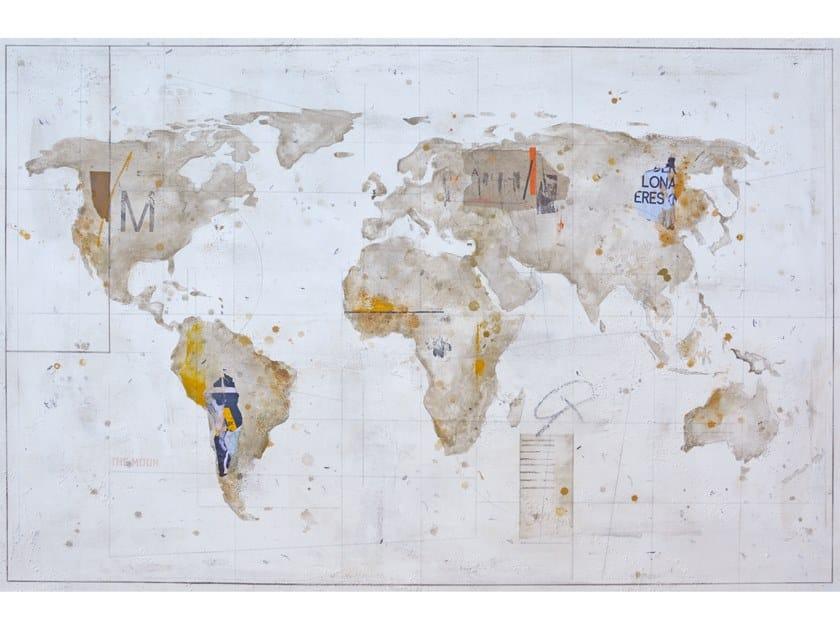Canvas Painting Terra ocre by NOVOCUADRO ART COMPANY