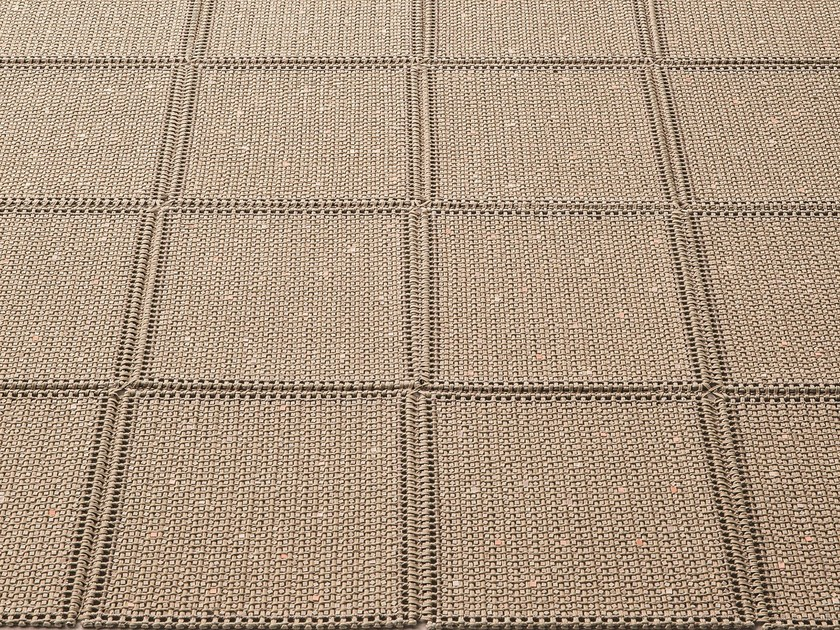 Solid-color outdoor rugs TERRA by paola lenti