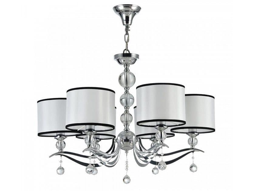 Fabric chandelier TERRA   Pendant lamp by MAYTONI