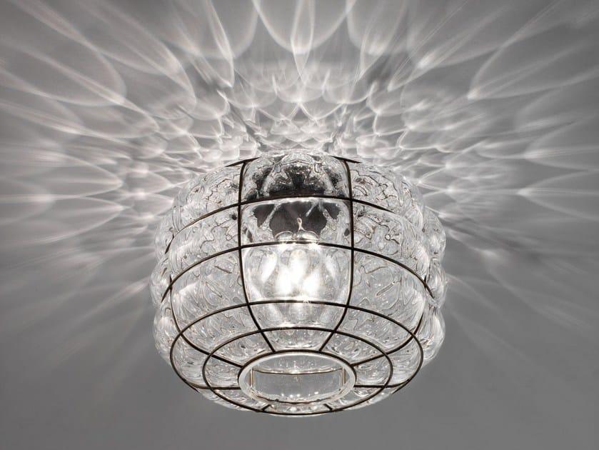 Plafoniere In Vetro Di Murano : Lampada a sospensione moderna in vetro di murano da interno