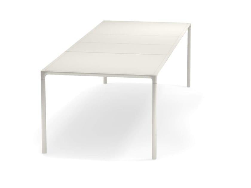 Emu Piano Tavolo Allungabile.Tavolo Allungabile Rettangolare In Alluminio Terramare Tavolo