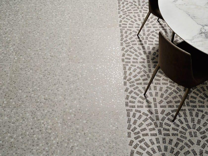 Pavimenti in gres porcellanato effetto terrazzo veneziano