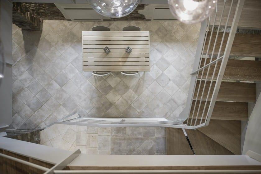 Indoor outdoor quarry wall floor tiles terre ossidate by for Casa classica porcelain tile
