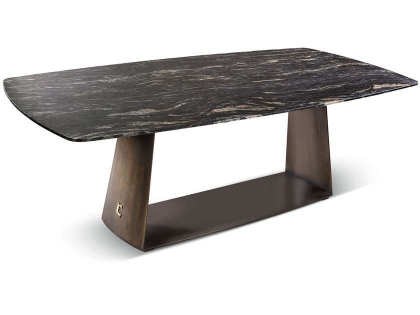 Rectangular marble table TESEO | Marble table by Cantori