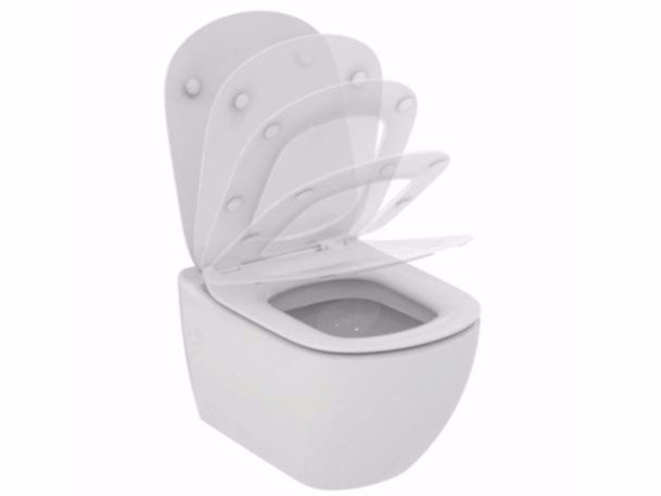 WC suspendu en céramique TESI - T3541 by Ideal Standard