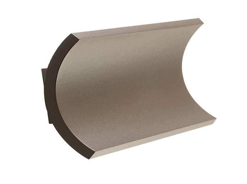 LED die cast aluminium Outdoor wall Lamp TESLA 6W+6W by SOVIL