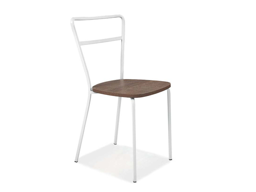 Open back iron chair TESSA by CREO Kitchens