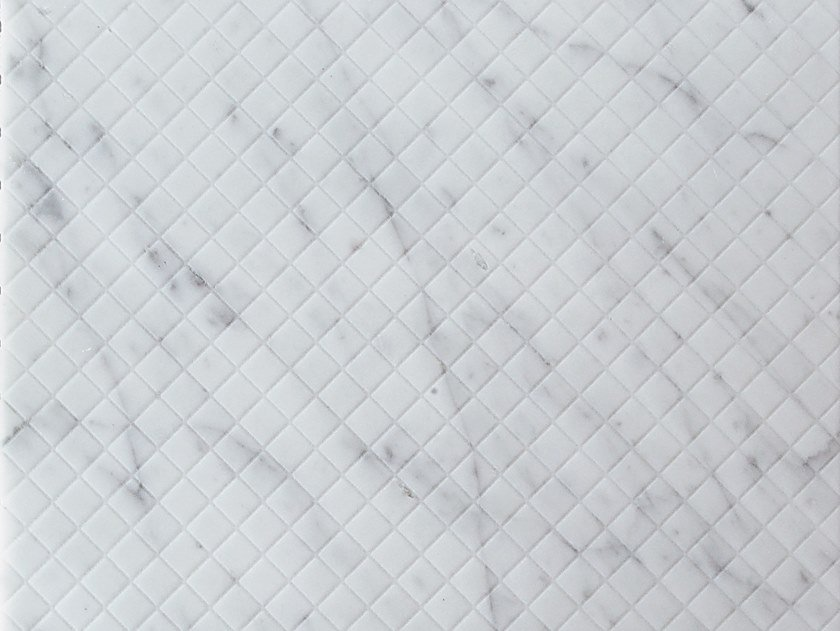 Marble wall/floor tiles TESSERE CARRARA by TWS