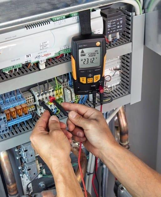 Измерительный инструмент контрольный инструмент инструмент для  Измерительный инструмент контрольный инструмент инструмент для термографических исследований ИК инструмент testo 760 1 by testo