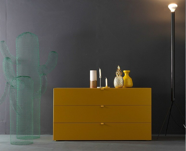 Lacquered chest of drawers TETRIS | Chest of drawers by Twils