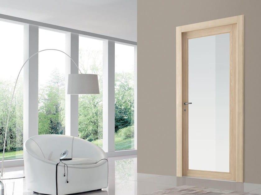 Hinged wood and glass door TEXAS by Door 2000