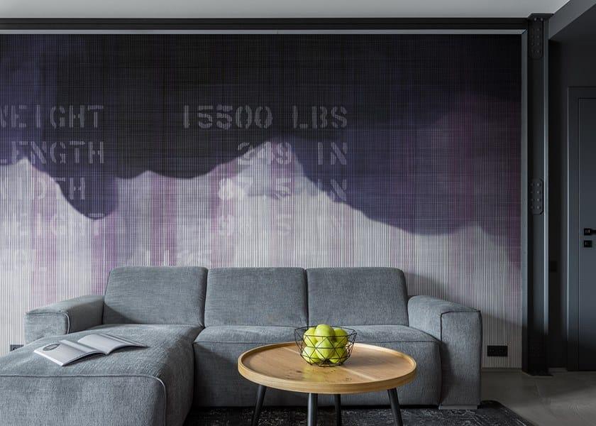 Vinyl or fyber glass wallpaper URBAN INK by N.O.W. Edizioni