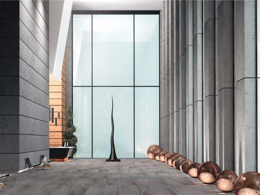Porcelain stoneware wall/floor tiles TEXTURE ANTRACITE by EDIMAX CERAMICHE