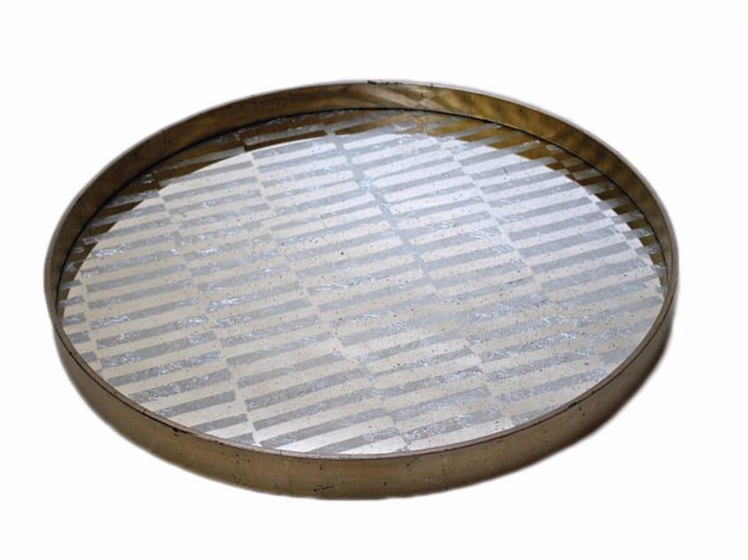 Round tray TRIBAL STRIPE by Notre Monde