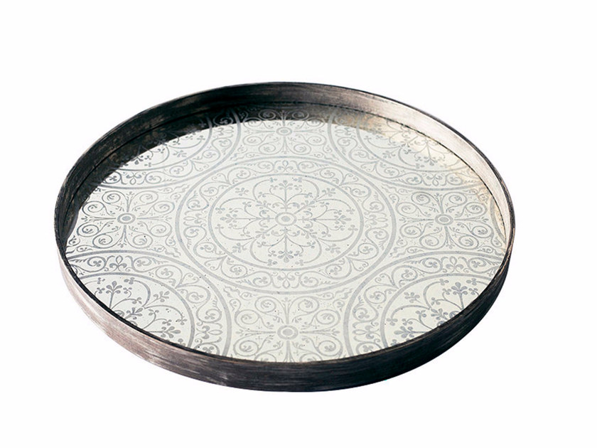 Round tray MOROCCAN FROST by Notre Monde