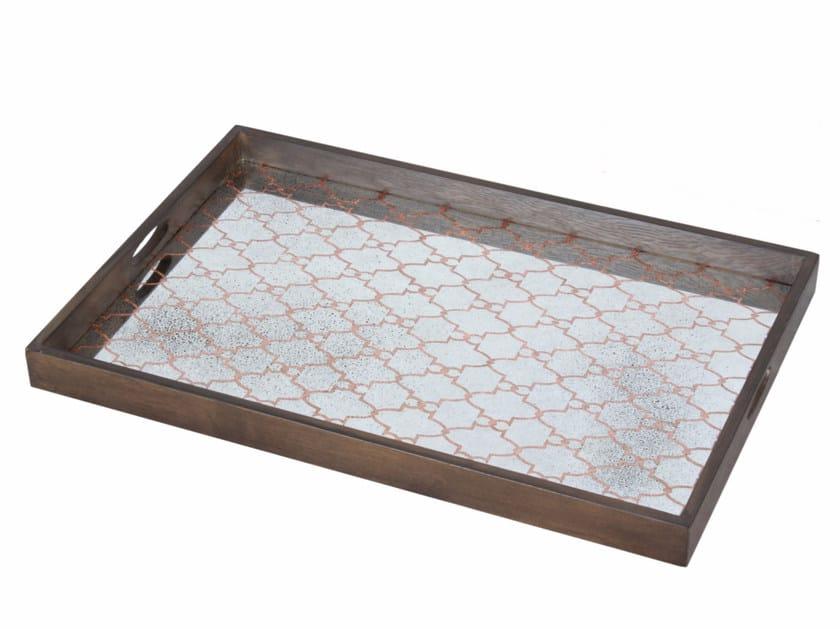 Rectangular tray COPPER GATE MEDIUM by Notre Monde