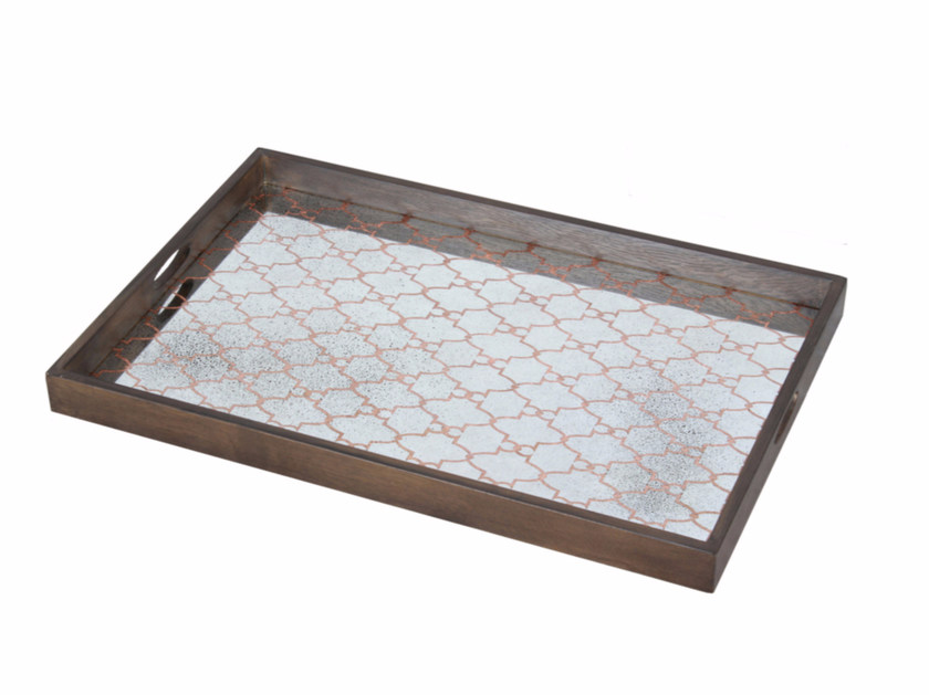 Rectangular tray COPPER GATE by Notre Monde