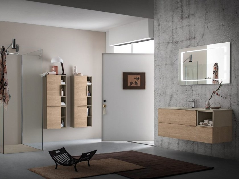 Bathroom furniture set THAI COMPOSITION 2 by RAB Arredobagno