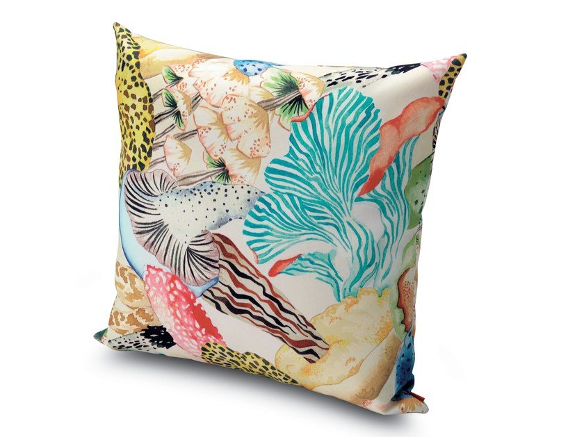 Square cushion THAITI | Cushion by MissoniHome