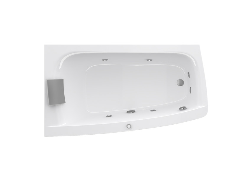 Vasca Da Bagno Asimmetrica : Vasca da bagno asimmetrica idromassaggio the essentials