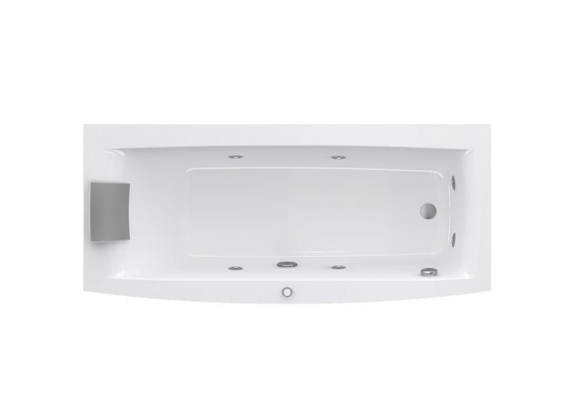 Vasca Da Bagno Angolare Dimensioni : Vasca da bagno idromassaggio rettangolare the essentials