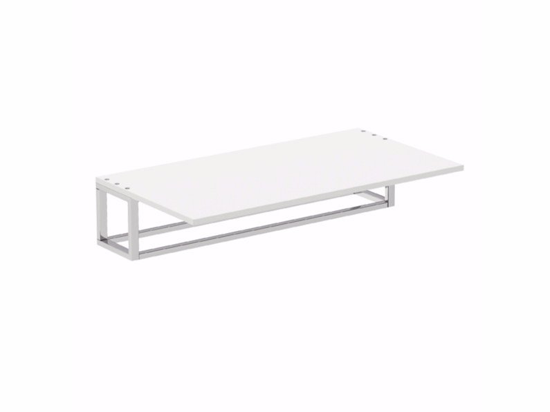 Towel rack / bathroom wall shelf THE GRID by Cosmic