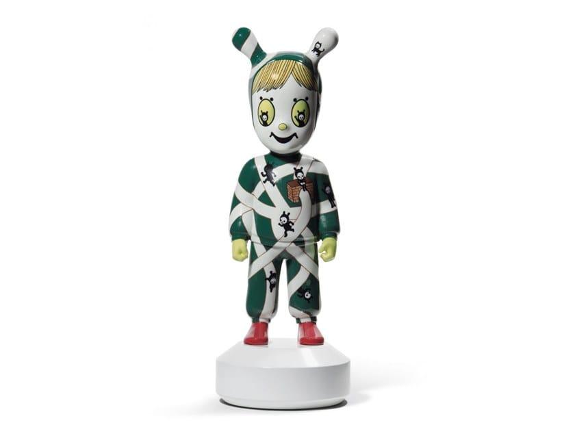 Porcelain decorative object THE GUEST (L) by Devilrobots by Lladró