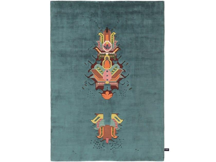 Handmade custom rug THE MOTHERSHIP by cc-tapis