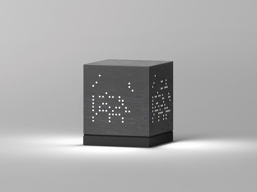 Lampada da terra per esterno a LED in DurCoral® THE NUDE by Buzzi & Buzzi