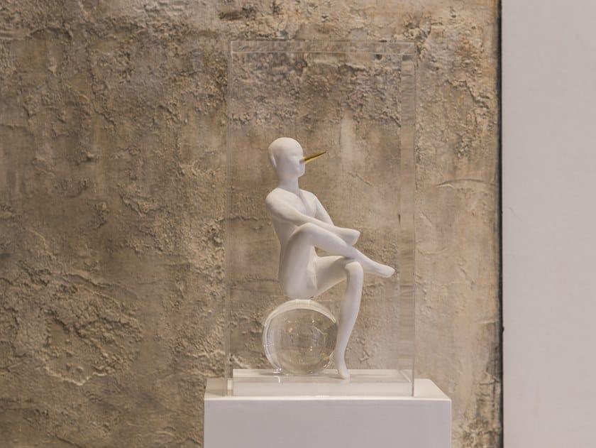 Ceramic sculpture THE PINOCCHIO by Gardeco
