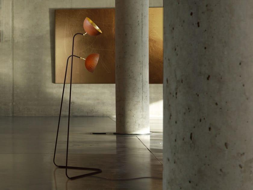 Adjustable floor lamp THE QUEEN | Adjustable floor lamp by Mammalampa