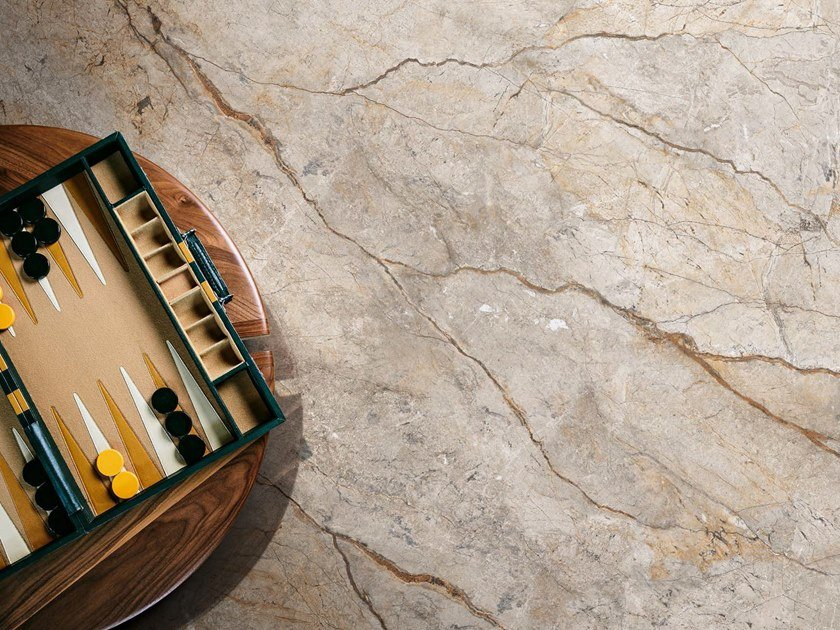 Porcelain stoneware wall/floor tiles with marble effect THE ROOM - SAN PE by Ceramica d'Imola