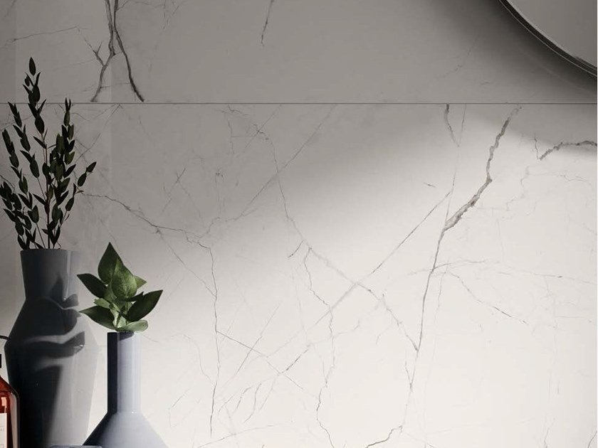 Porcelain stoneware wall/floor tiles with marble effect THE ROOM - STA VP by Ceramica d'Imola