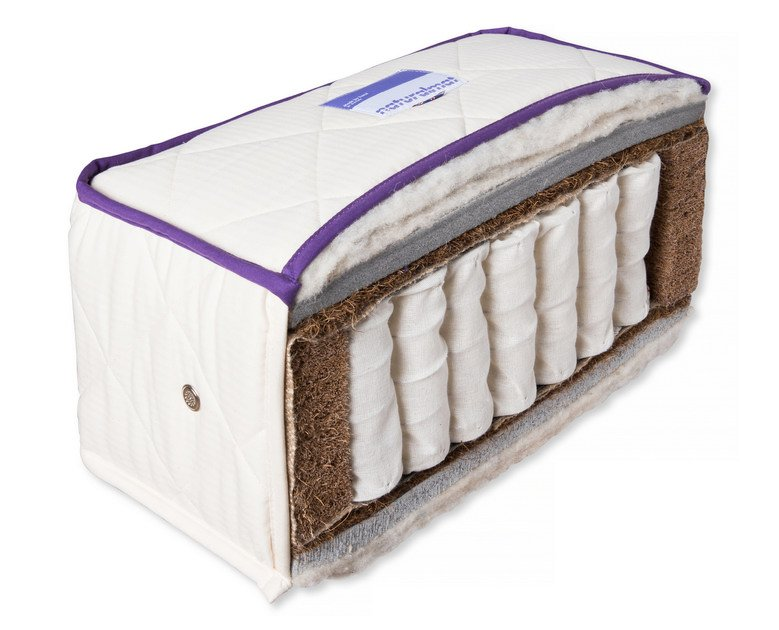 Packed springs anti-allergy mattress THE SUMPTUOUS | Mattress by Naturalmat