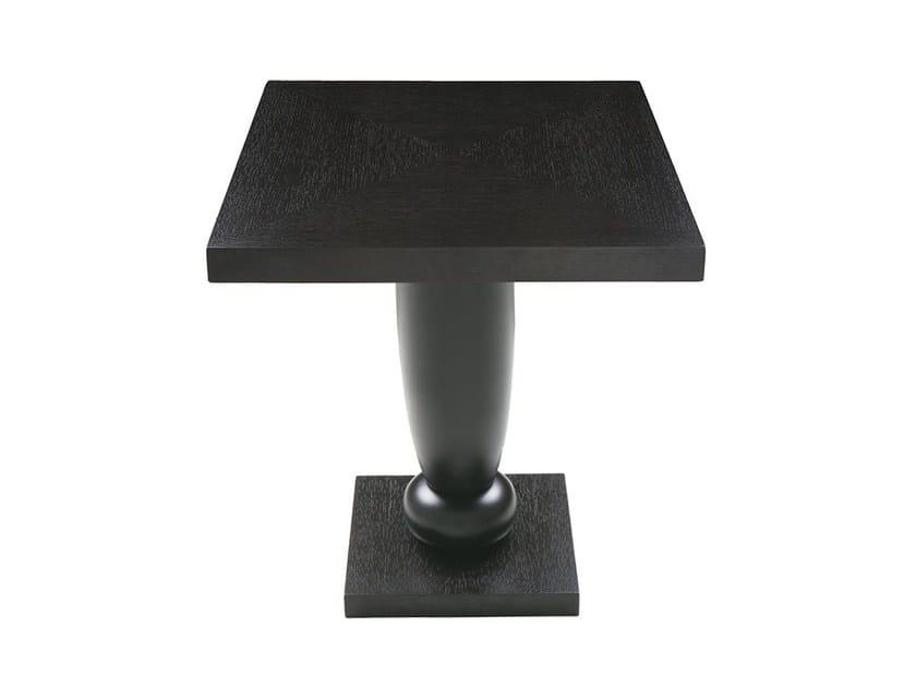 Round dining table THÉA BAR SQUARE by Hamilton Conte Paris