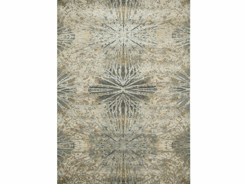 Patterned rug THEA ESK-400 Antique White/Ashwood by Jaipur Rugs