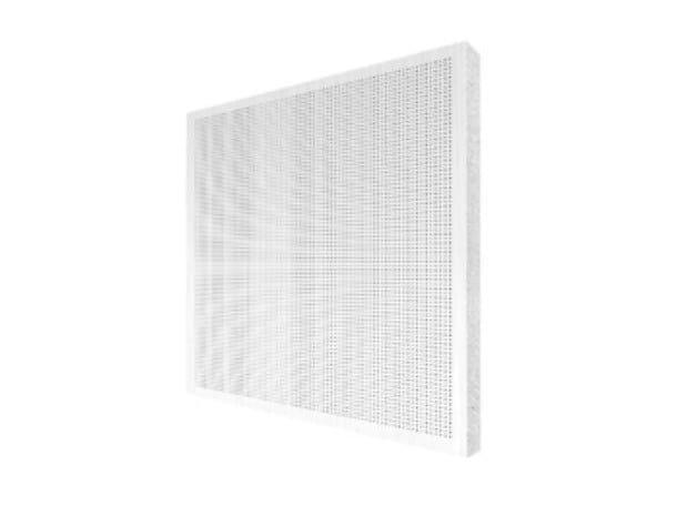 Sound absorbing ceiling tiles THERMATEX® VARIOLINE METAL by Knauf Italia